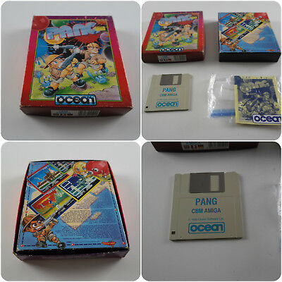 Pang A Ocean Game For The Commodore Amiga Computer Tested & Working • 112.99£