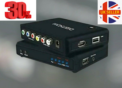 HD Game Capture Video Device HDMI Video Converter Recorder EU Wall Plug In • 30£