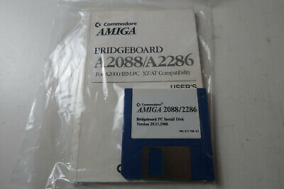 Commodore Amiga Bridgeboard A2080/A2286 For A2000 Tested & Working • 39.99£