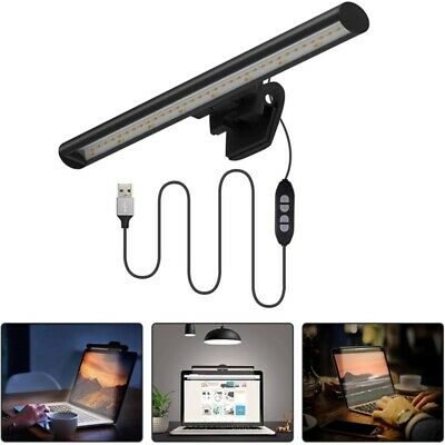 Laptop Notebook Computer Monitor Lamp With No Glare On Screen USB Powered • 13.89£
