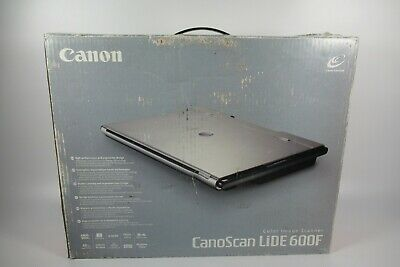 Canon CanoScan LiDE 600F Flatbed Scanner USB - With Film Negative Scanner -Boxed • 59.99£