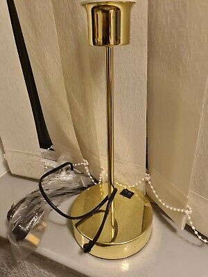 Usb Gold Lamp Stand  • 4.99£