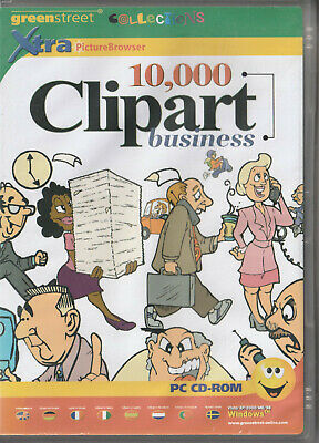 10,000 Clipart Business Royalty Free Scalable Clip Art In WMF + Browser • 3£