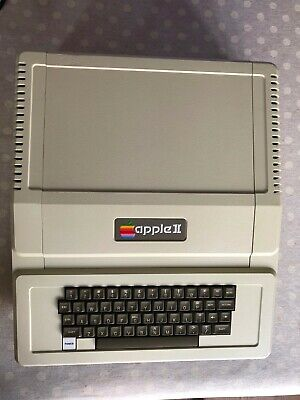 Rare Apple II (not II Plus) Model : A2S1 - Tested And Working • 700£