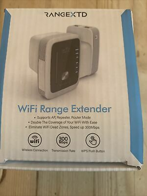 Rangextd Wifi Range Extender Booster New In Box US And EU Plug Only • 27£