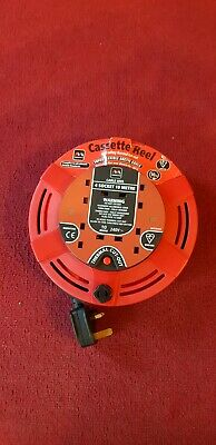 Masterplug 4 Socket Safety Cut Out Cable Reel - 10M • 14.95£