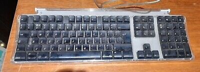 Apple Pro Keyboard M7803, USB Wired, UK Layout, Working, Very Fair Condition • 25£