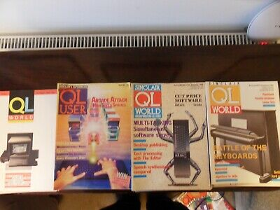 Huge Collection Of QL Printed Material - 1980's And 90's • 13.50£