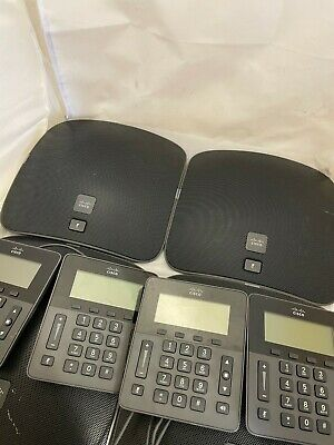 4 X CISCO UC Phone CP-8831 Meeting Conference Phone Speaker With Control Units • 99.99£