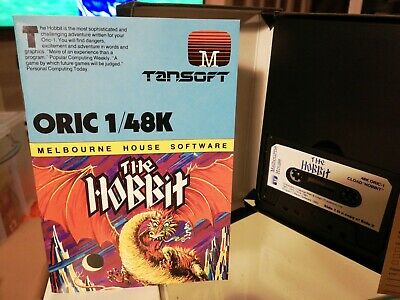 The Hobbit Adventure Game For Oric Computer • 4£