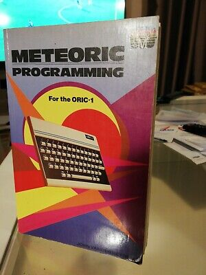 Meteoric Programming For The ORIC-1 • 3.53£