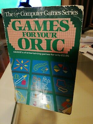 Games For Your Oric Peter Shaw • 1.30£