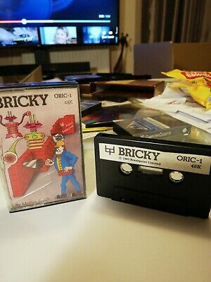 Bricky Game For Oric Computer • 1.50£
