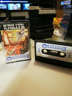 Orpheus Krillys Game For Oric • 1.60£