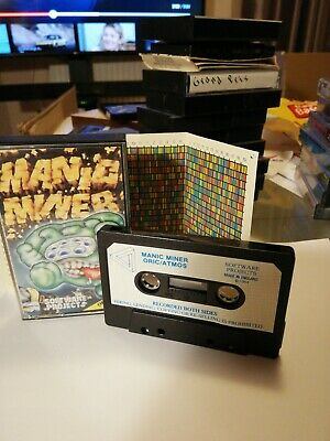 Manic Miner Game For Oric • 5.50£