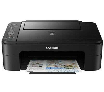 Canon Pixma TS3355 All-in-One Wireless Inkjet Printer - Black(3771C069)With Ink✅ • 75£