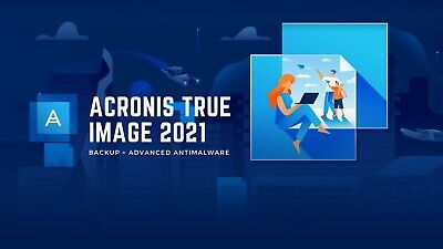 Acronis True Image 2021 USB Data Backup/Restore -Clone -Copy -Migrate Incl SSD  • 18.50£