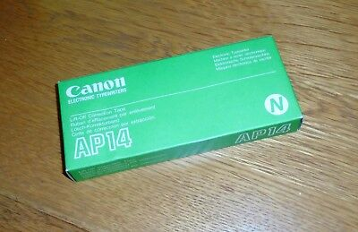 Box Of 6 Genuine Canon AP14 Electric Typewriter Lift-Off Correction Tape • 15£