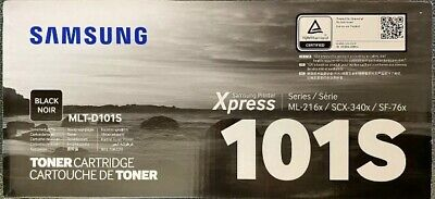 Genuine Original Samsung MLT-D101S / ELS Black Toner Cartridge • 45£