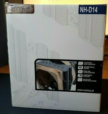 Noctua NH-D14 CPU Cooler (AM4 Mounting NOT Included) • 39.99£
