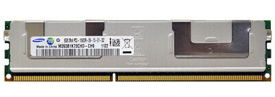 Samsung 32gb 4x8gb M393B1K70CHD-CH9 2Rx4 PC3 1333 ECC Server Ram PC3L-10600R • 64.99£