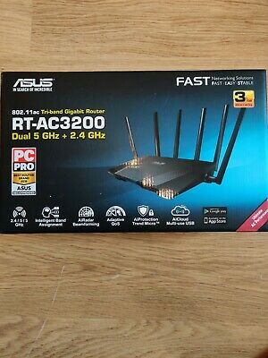 Asus Rt-ac3200 Tri-band Router • 25£