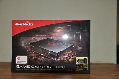 AVerMedia Game Capture HD II (C285) 1080p HDMI Capture Device • 65£