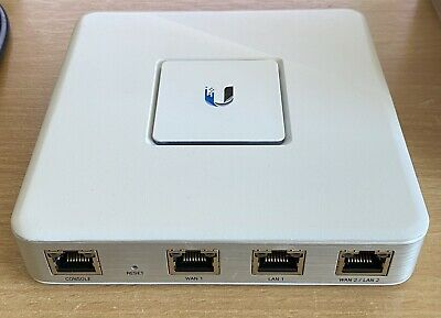 UBIQUITI USG UniFi Security Gigabit Gateway, Router  3x Gbit RJ45 Ports, VPS • 21£