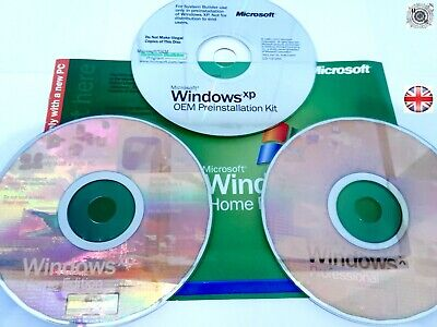 Windows XP Set Of 3 Disk's ( Collector's ) • 20£