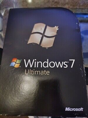 Microsoft Windows 7 Ultimate 64 Bit & 32 Bit DVD's • 31£