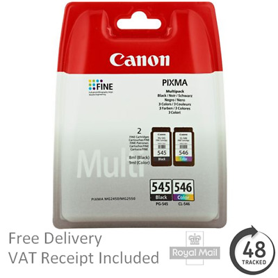 Canon Pixma MG3050 Ink Cartridges - Black & Colour - Original NEW • 32.95£