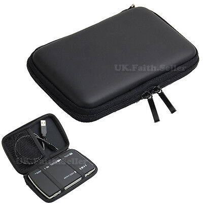 EVA 2.5  Portable HDD Carry Case Pouch For SAMSUNG T5 External SSD • 7.99£