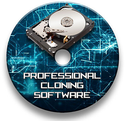 Copy Hard Drive Clone Disk Cd Image Back Up Duplicating Software - Windows • 4.99£