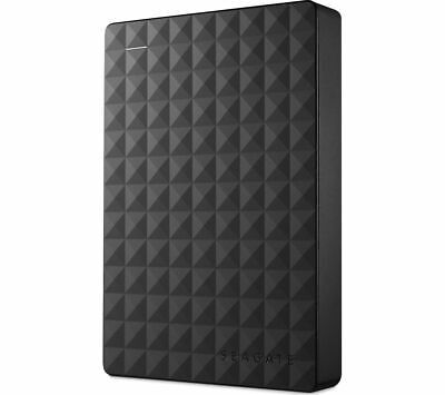 SEAGATE Expansion Portable Hard Drive - 4 TB Black - Currys • 89.99£