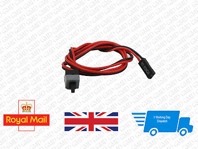 PC Computer Motherboard Power Cable Switch On/Off/Reset Button Replacement #0013 • 2.33£