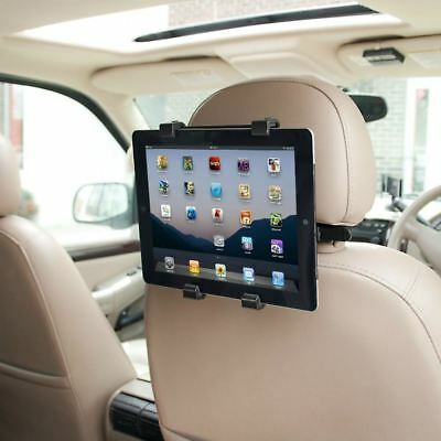 UNIVERSAL IN CAR BACK SEAT HEADREST HOLDER MOUNT For IPAD GALAXY TAB GPS KINDLE • 6.95£