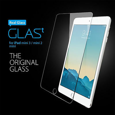 Real Tempered Glass Film Screen Protector For Apple IPad Mini 1/2/3 • 3.99£