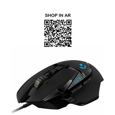 LOGITECH G502 Hero Gaming Mouse - Currys • 59.99£