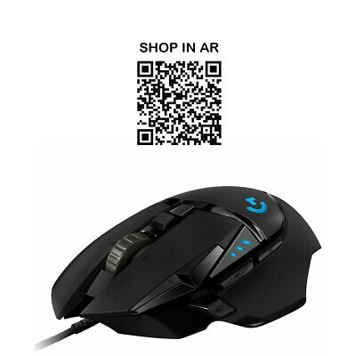 LOGITECH G502 Hero Optical Gaming Mouse - Currys • 49.99£
