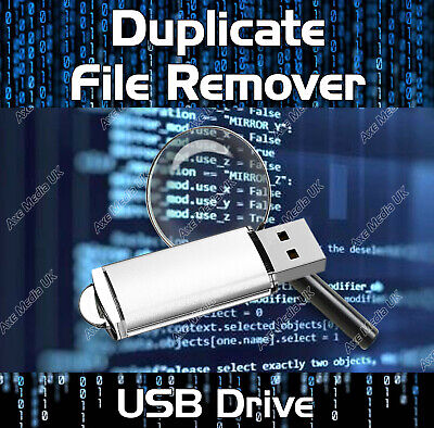 Duplicate File Finder Remover - Locate Files Images Music Data Photos Pictures • 11.99£