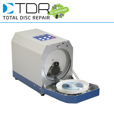 Reconditioned TDR Eco Smart Disc Repair Machine - Fix CDs, DVDs, Xbox, PS3 • 960£