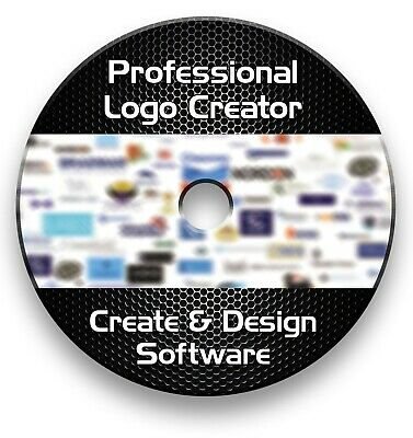 Pro Logo Maker Creator Design Software Cd - Windows Vista ,7,8,10  • 3.99£