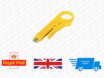 RJ45 Cat5 Network Wire Cable Punch Down Cutter Stripper High Quality #0063 • 2.95£