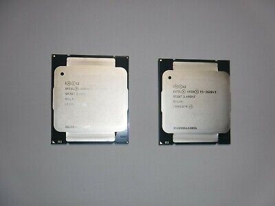 Intel Xeon E5-2620 V3 Matched Pair • 160£