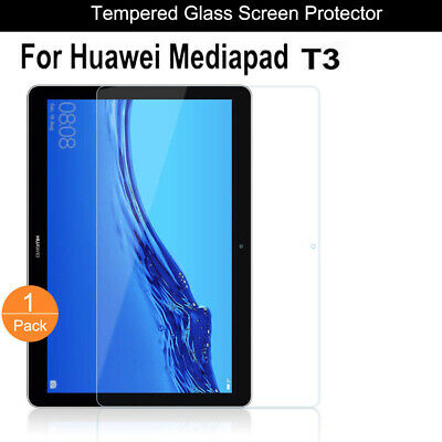 New Screen Protector For Huawei Mediapad T3 9.6/10  Tempered Glass Screen Guard • 4.49£