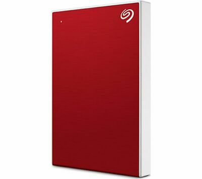SEAGATE Backup Plus Slim Portable Hard Drive - 1 TB Red - Currys • 45.99£