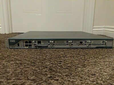 Cisco 2801 Router With ADSL And ISDN WICs • 40£