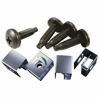 Hammond 10-32 Mounting Screw & Clip Nut Pack Of 50 • 36.99£