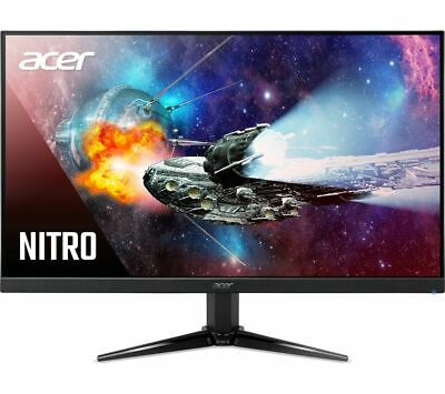 ACER Nitro QG241Ybii Full HD 23.8  VA LCD Gaming Monitor - Black - Currys • 109£