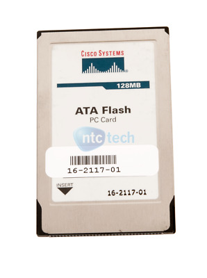 Cisco 128MB PCMCIA Flash Card 16-2117-01 • 23.91£